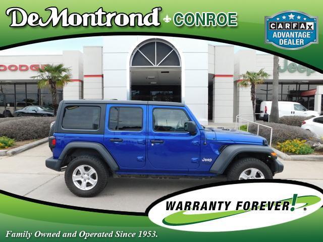 2018 Jeep Wrangler Unlimited Sport S 4x4 Conroe TX