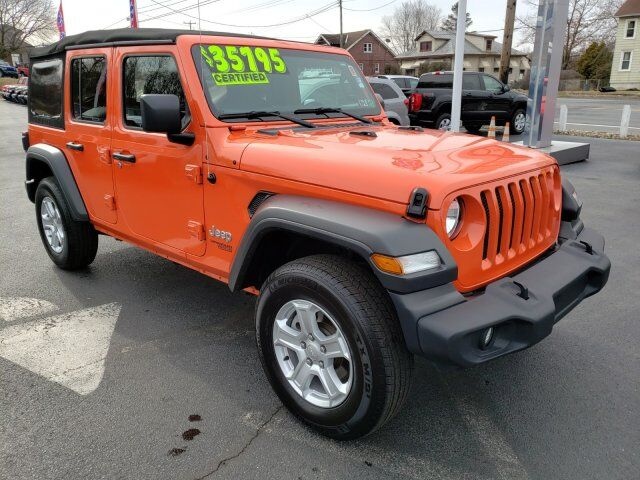 2018 Jeep Wrangler Unlimited Sport S Hamburg PA
