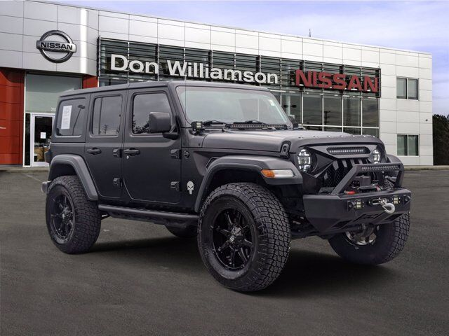 2018 Jeep Wrangler Unlimited Sport S Jacksonville NC