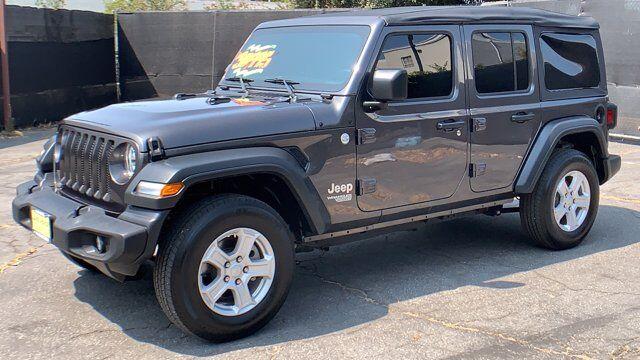 2018 Jeep Wrangler Unlimited Sport S Pasadena CA