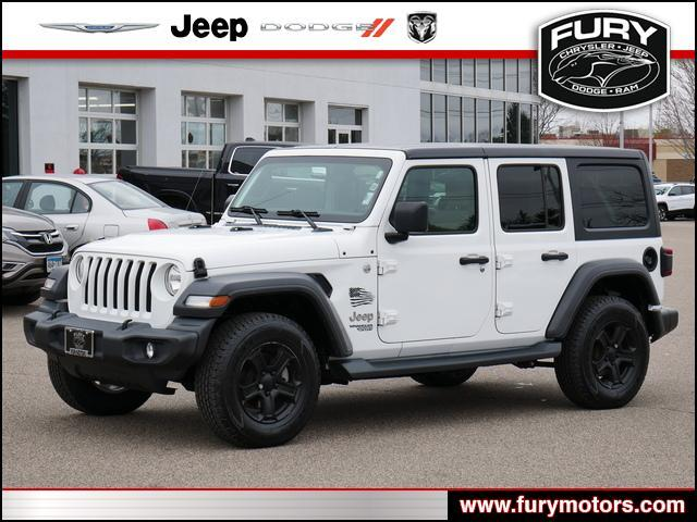 2018 Jeep Wrangler Unlimited Sport S Oak Park Heights MN