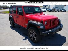 2018_Jeep_Wrangler_Unlimited Sport_ Watertown NY