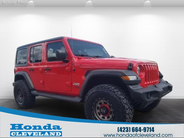 2018 Jeep Wrangler Unlimited Unlimited Sport Cleveland TN