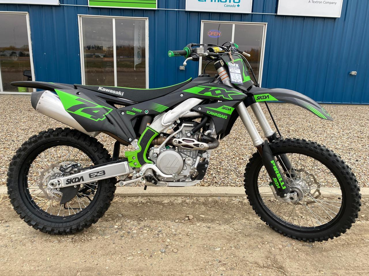 2018 KAWASAKI KX450F MOTORCYCLE Swift Current SK