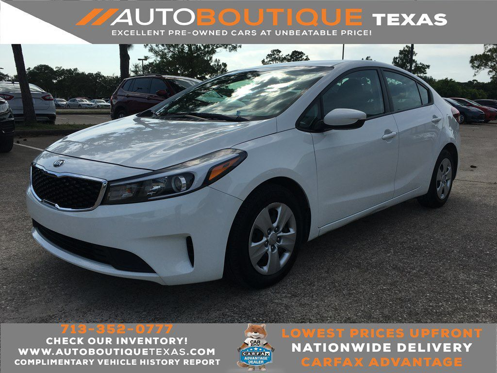 2018 KIA FORTE LX LX Houston TX