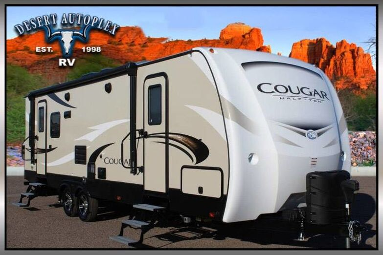 2018 Keystone Cougar 27SABWE Single Slide Travel Trailer Treated w/Cilajet Anti-Microbial Fog Mesa AZ