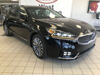 Kia Cadenza Premium FWD 3.3L *NAVIGATION/BLIND SPOT DETECTION/PANORAMIC SUNROOF/LEATHER HEATED & COOLED FRONT SEATS* 2018