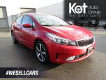 2018 Kia FORTE EX LUXURY! FULL LOAD! LEATHER! SUNROOF! NAVIGATION! BACKUP CAM! BLUETOOTH! NO ACCIDENTS!