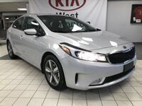 Kia Forte EX FWD 2.0L *HEATED STEERING WHEEL/LEATHER WRAPPED STEERING WHEEL & SHIFT KNOB/SMART TRUNK RELEASE* 2018