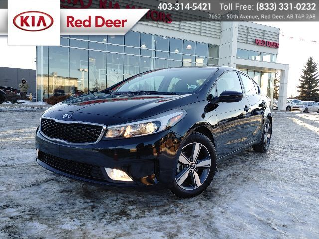 2018 Kia Forte LX+, 2 Sets of Tires, Bluetooth, Sirius Radio, A/C, Heated Front Seats, Back-up Camera Red Deer AB