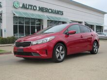 2018_Kia_Forte_LX 6A CLOTH SEATS, BACKUP CAMERA, APPLE CARPLAY, AUX/USB INPUT, BLUETOOTH CONNECTIVITY_ Plano TX