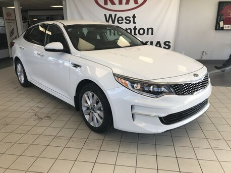 2018_Kia_Optima_EX FWD 2.4L *APPLE CAR PLAY COMPATIBILITY/LEATHER HEATED FRONT/REAR SEATS/RAIN SENSING WIPERS*_ Edmonton AB