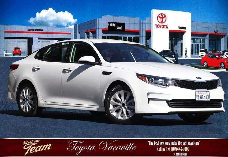 2018 Kia Optima Lx Sedan Vacaville CA