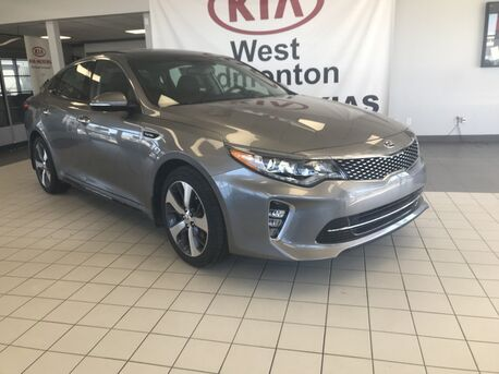 2018_Kia_Optima_SX FWD 2.0L Turbo *MOUNTED PADDLE SHIFTERS/PREMIUM LEATHER SEATS/DUAL EXHAUST*_ Edmonton AB