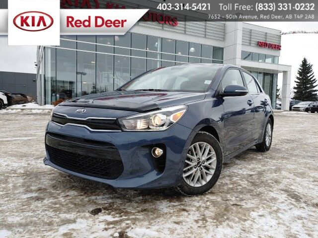 2018 Kia Rio 5-door EX, Remote Start, Sunroof, Auto Climate Control, UVO Telematics, Bluetooth, Heated Front Seats & Steering Wheel, Back-up Camera Red Deer AB