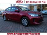 2018 Kia Rio S Sedan, Remote Keyless Entry, Rear-View Camera, Touch-Screen Audio, Bluetooth Technology, Front Bucket Seats, Split Folding Rear Seats, 15-Inch Wheels,