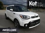 2018 Kia SOUL EX TECH! RARE UNIT! FULL LOAD! PANORAMIC ROOF! NAVIGATION! 1 OWNER! NO ACCIDENTS! BACKUP CAM! HEATED SEATS!