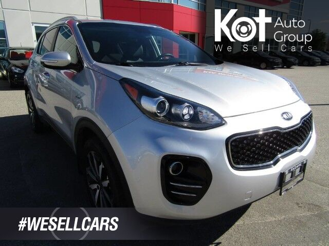 2018 Kia SPORTAGE EX! AWD! 1 OWNER! NO ACCIDENTS! LEATHER! ONLY 23,000 KMS! SUPER CLEAN! Kelowna BC