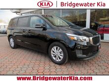 2018_Kia_Sedona_LX Premium, Rear-View Camera, Touch-Screen Audio, UVO Infotainment, Android Auto, AppleCar Play, Heated Leather Seats, 3RD Row Seats, Power Sliding Rear Doors, 17-Inch Alloy Wheels,_ Bridgewater NJ