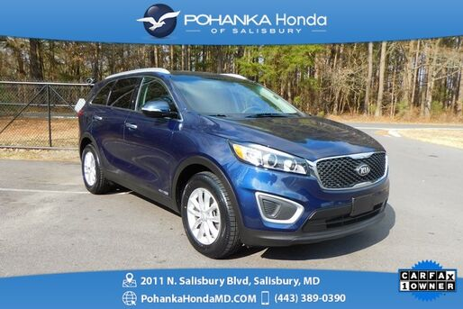 2018_Kia_Sorento_LX ** AWD FE ** THREE ROW SEATING ** ONE OWNER **_ Salisbury MD