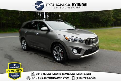 2018_Kia_Sorento_SX **SUPER CLEAN**LEATHER**BACK UP CAMERA**_ Salisbury MD