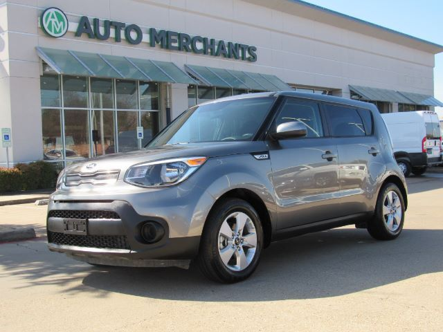 2018 Kia Soul Base 6A BLUETOOTH CONNECTIVITY, USB/AUX INPUT, STEERING WHEEL CONTROLS, 3 DRIVE MODES Plano TX