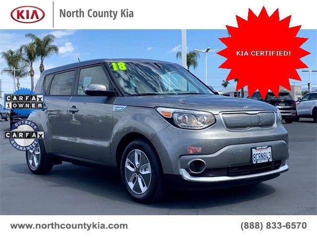 2018 Kia Soul EV  San Diego County CA