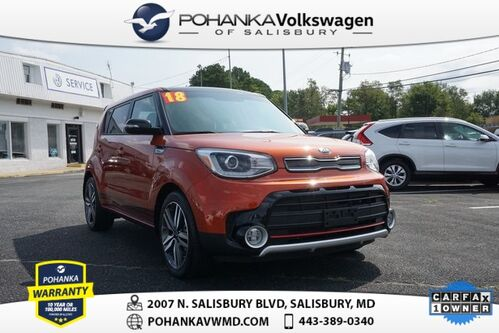 2018_Kia_Soul_Exclaim ** LEATHER NAV ** GREAT BUY ** CLEAN CARFAX **_ Salisbury MD