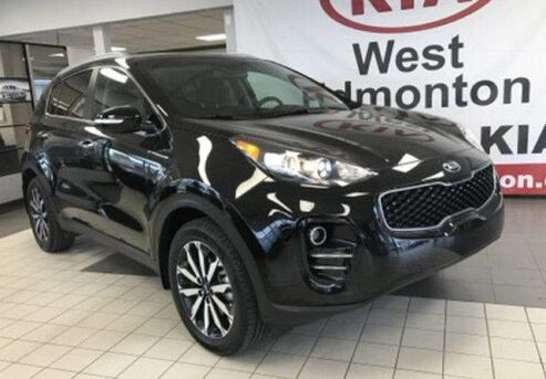 2018_Kia_Sportage_EX AWD 2.4L *LEATHER HEATED FRONT SEATS & STEERING WHEEL/7 LCD DISPLAY AUDIO/PUSH BUTTON START*_ Edmonton AB
