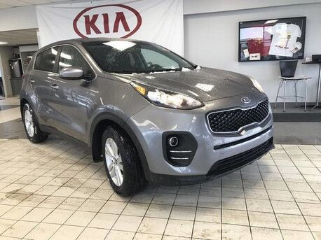 2018_Kia_Sportage_LX FWD 2.4L *HEATED CLOTH FRONT SEATS/SECURITY SYSTEM/REARVIEW CAMERA*_ Edmonton AB