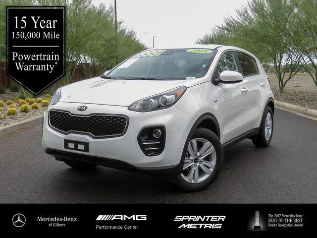Kia Performance Center >> 2018 Kia Sportage Lx Gilbert Az 26335949