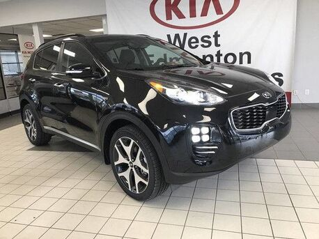 2018_Kia_Sportage_SX AWD 2.0L Turbo *LARGER FRONT BRAKES/STEERING WHEEL PADDLE SHIFTERS/NAVIGATION*_ Edmonton AB