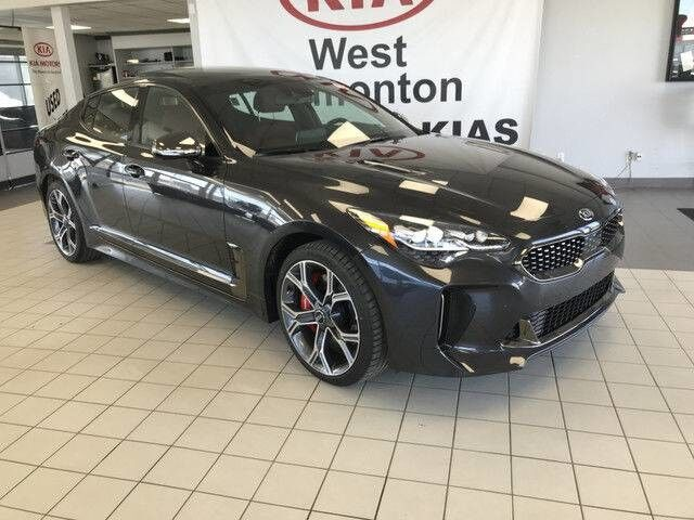 2018 Kia Stinger GT Limited AWD V6 TWIN TURBO *360 CAMERA MONITORING SYSTEM/AIR COOLED FRONT SEATS/NAPPA NOIR LEATHER* Edmonton AB