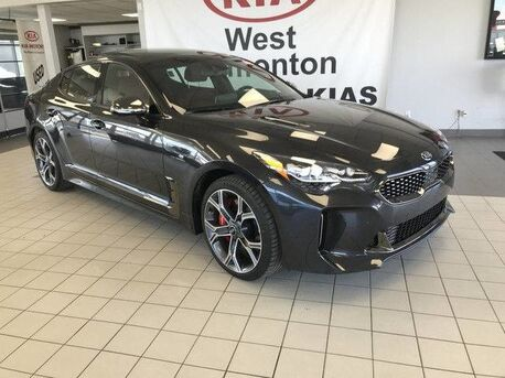 2018_Kia_Stinger_GT Limited AWD V6 TWIN TURBO *360 CAMERA MONITORING SYSTEM/AIR COOLED FRONT SEATS/NAPPA RED LEATHER*_ Edmonton AB