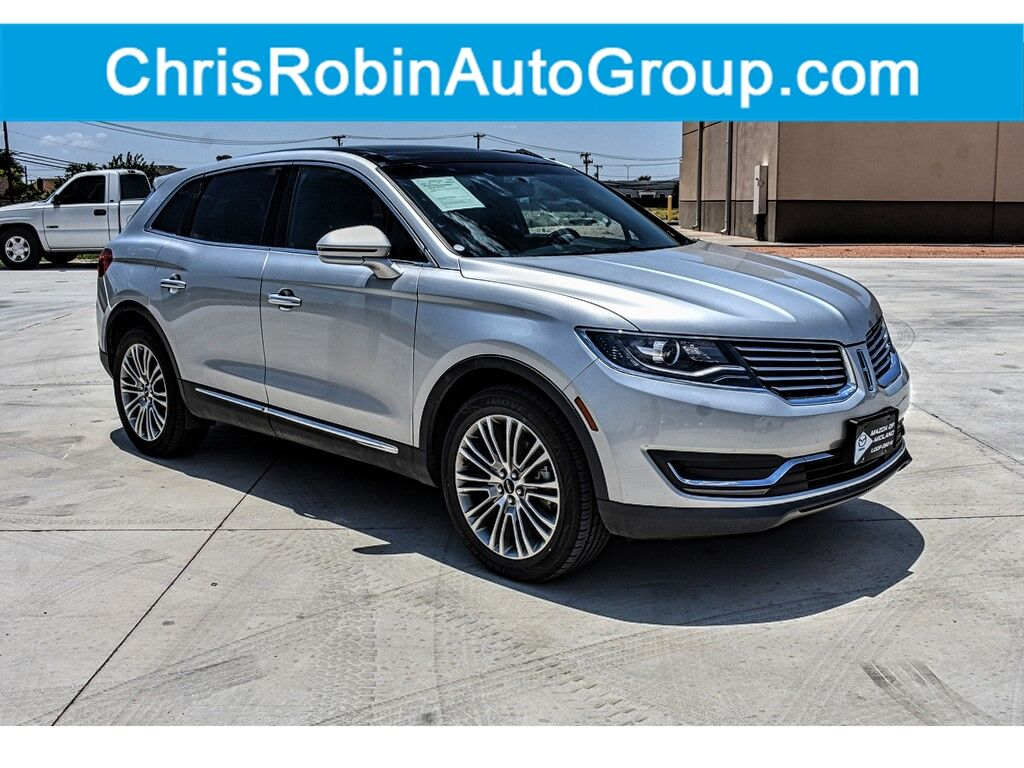 2018 LINCOLN MKX RESERVE AWD Midland TX