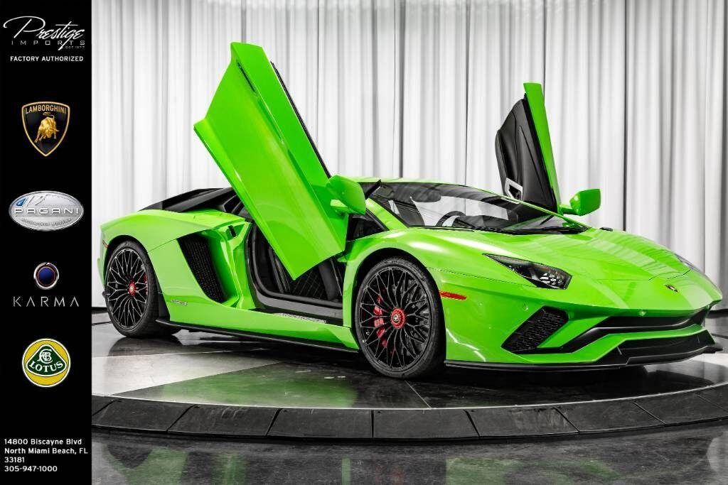 2018 Lamborghini Aventador S North Miami Beach FL