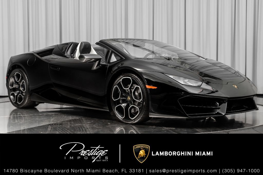 2018_Lamborghini_Huracan__ North Miami Beach FL