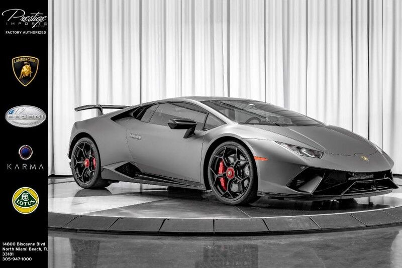 2018_Lamborghini_Huracan_Performante *Supercharged_ North Miami Beach FL