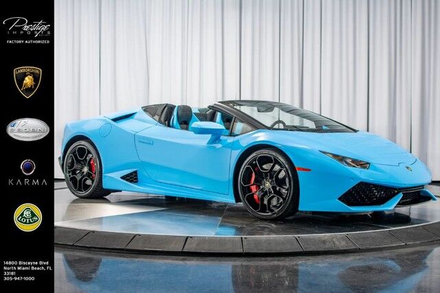 2018_Lamborghini_Huracan Spyder_LP 610-4_ North Miami Beach FL