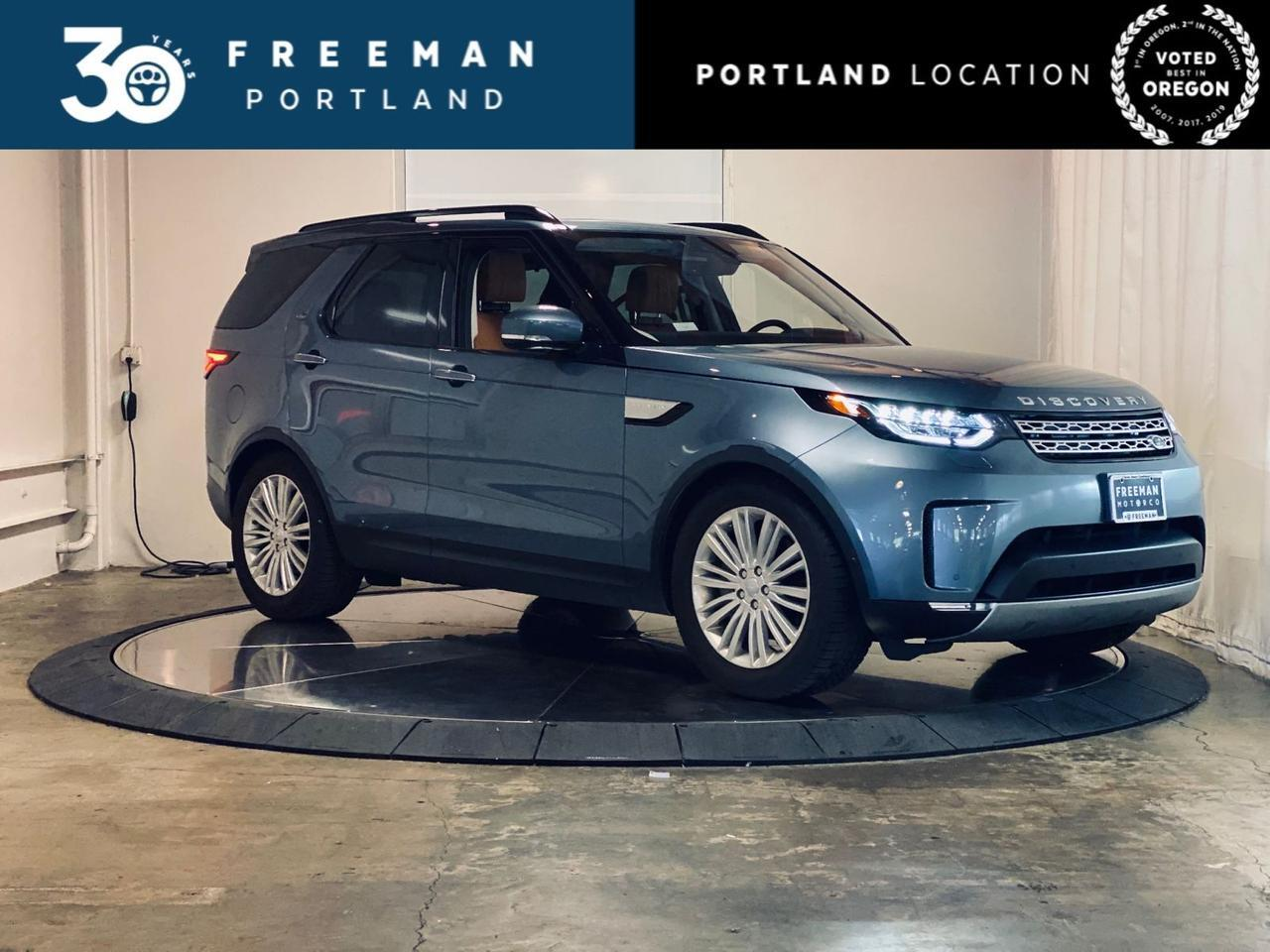 2018 Land Rover Discovery HSE Luxury 3rd Row Seat Blind Spot Assist Backup Cam