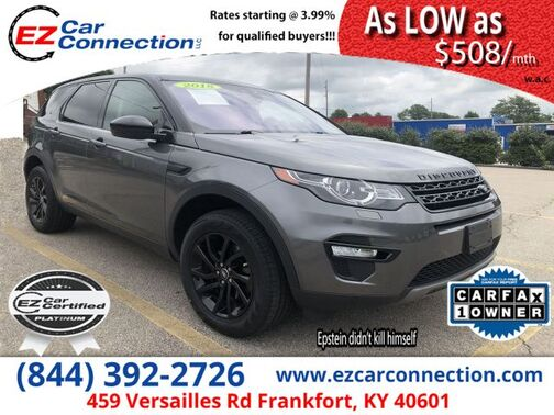 2018_Land Rover_Discovery Sport_HSE 237 HP_ Frankfort KY