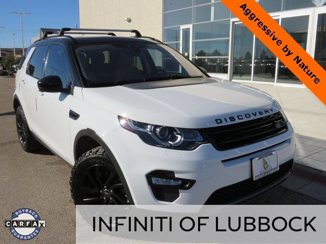 2018 Land Rover Discovery Sport HSE Lubbock TX
