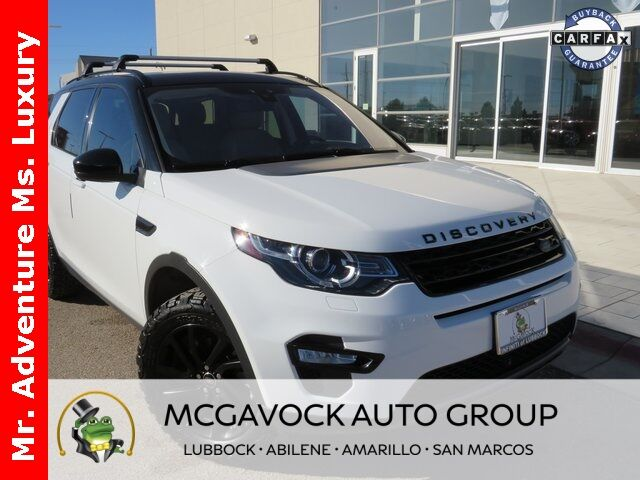 2018 Land Rover Discovery Sport HSE Amarillo TX