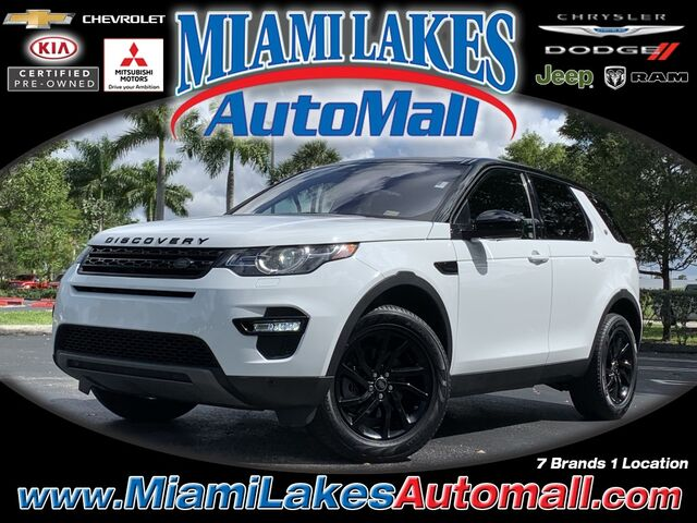 2018 Land Rover Discovery Sport HSE Miami Lakes FL