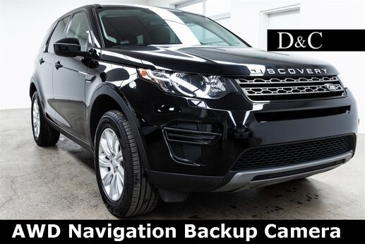 2018 Land Rover Discovery Sport SE AWD Navigation Backup Camera Portland OR
