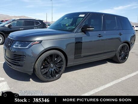 2018_Land Rover_Range Rover_3.0L V6 SC HSE NAV,CAM,PANO,4-CLMT STS,22IN WLS_ Plano TX