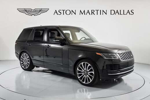 2018 Land Rover Range Rover 5.0L V8 Supercharged Dallas TX