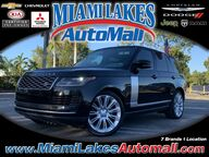 2018 Land Rover Range Rover 5.0L V8 Supercharged Miami Lakes FL