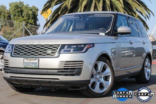 2018 Land Rover Range Rover 5.0L V8 Supercharged Redwood City CA