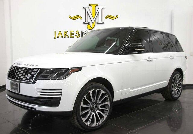 2018 Land Rover Range Rover Autobiography ($147,293 MSRP) **REAR TV'S** San Diego CA